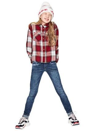 Pepe jeans рубашка для девочки. рост 140