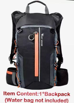 WEST BIKING Водонепроницаемая вело сумка/ рюкзак