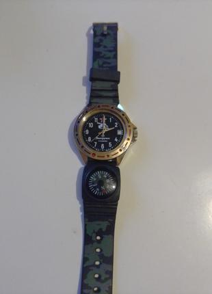 Командирские ручные часы