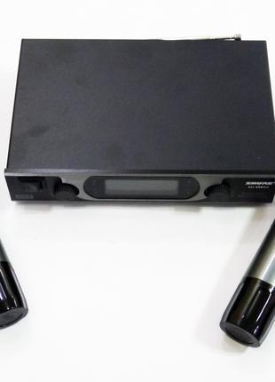 База 2 радиомикрофона Радиосистема Shure SH-600G2