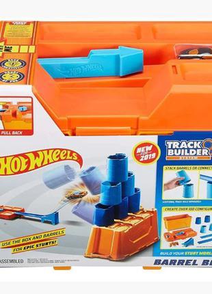 Игровой трек Hot Wheels Строительная коробка для трюков