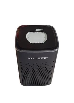Беспроводная bluetooth колонка KOLEER S818 портативная блютуз