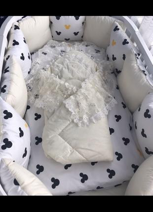 Конверт для новонародженных (унисекс)
