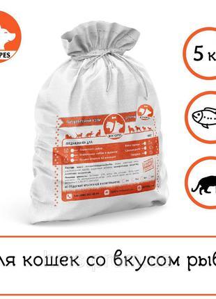 Превосходный сухой корм эконом класса для котов и кошек 5 кг
