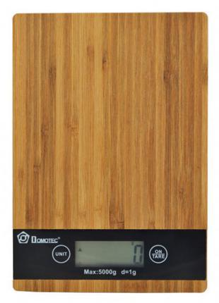 Электронные кухонные деревянные весы