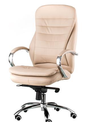 Кресло руководителя офисное Murano beige/grey
