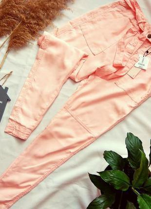Штаны/брюки с завышеной талией bershka