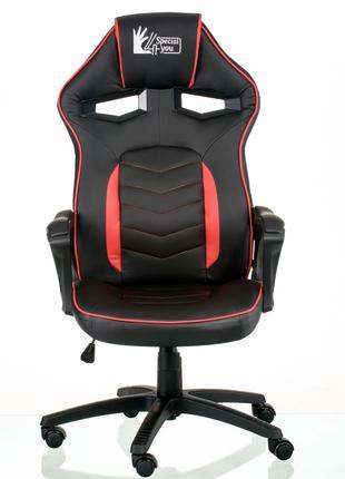 Кресло геймерское Nitro black/red