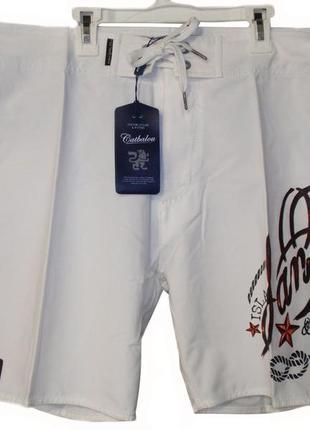 Распродажа / шорты мужские легкие пляжные летние белые бренд c...
