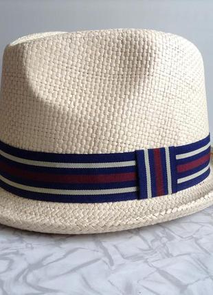 Шляпа соломенная летняя