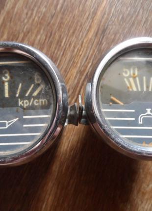 Датчики Вода и Масло 24V