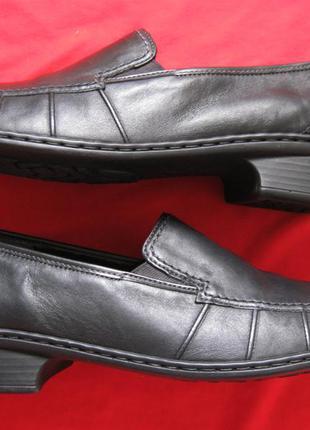 Jenny by ara (41, 26 см) кожаные туфли лоферы