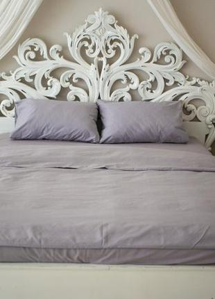 Комплект постельного белья prestige евро silver 200х220 см серый