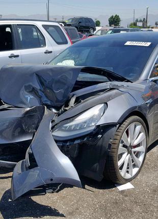 Tesla model S перепаковка airbag srs руль шторки сидения колени