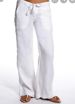 Белые женские штаны брюки # летние лёгкие штаны # hobbs london