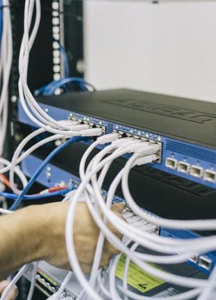 Ремонт сетей. Обслуживание, прокладка и настройка в г. Днепр