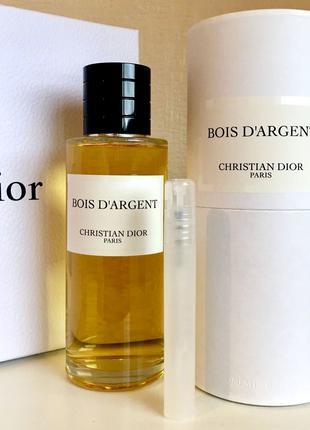 Christian Dior Bois d'Argent_Оригинал EDP_3 мл затест парф.вода