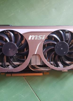 Продам видеокарту MSI N560GTX Twin Frozr II/OC.