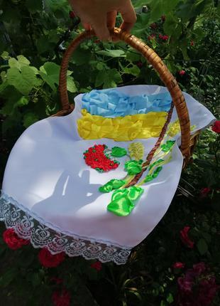 Вишитий рушник «Патріотичний» на подарок чи сувенір
