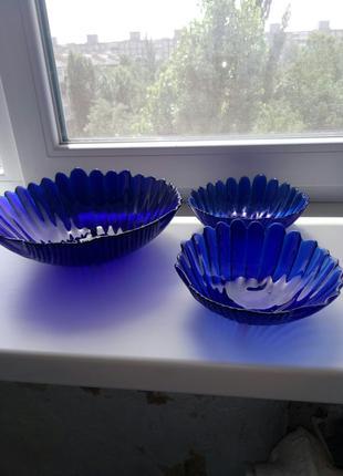 Салатницы цветное стекло