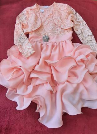 Нарядное платье для девочки 5-7 лет