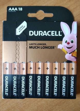 Батарейки Duracell AAA LR03 18шт
