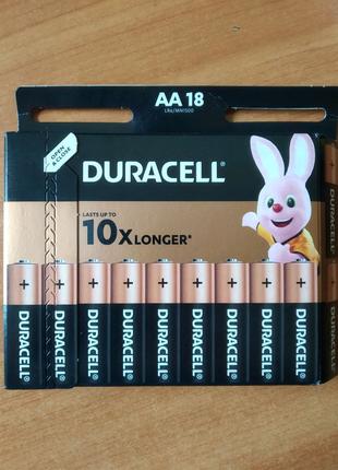 Батарейки Duracell AA LR06 18шт