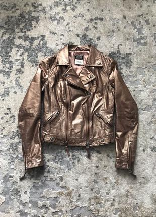 косуха кожаная куртка Bershka