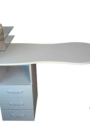 Стол маникюрный Opus Studio Стандарт со складной столешницей