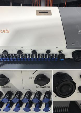 Инвертор Solis 30K-5G 400V для солнечных электростанций