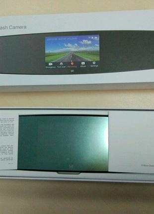 В наличии Видеорегистратор зеркало Xiaomi YI Mirror + задняя к...