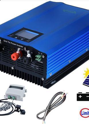 Сонячний грідінверктор 1200 вт. з лімітером (для економії електр.