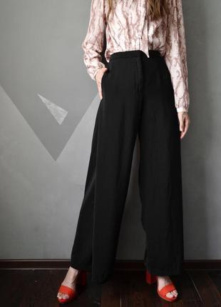 Эффектные брюки палаццо длинные брюки h&m