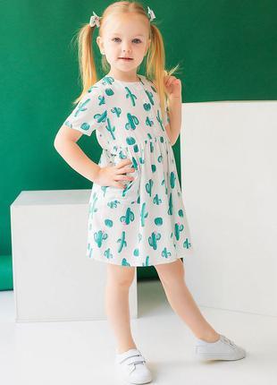 ☀️ летнее легкое платье для девочки 10045