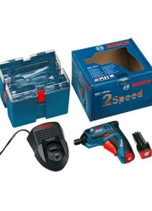 Аккумуляторный шуруповерт Bosch GSR Mx2 Drive Professional