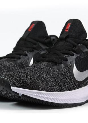 Мужские кроссовки nike running (черно/белые)