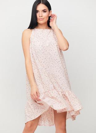 Легкое летнее платье мини