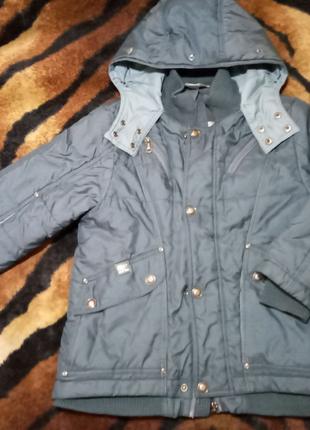 Куртка демисезон на мальчика рост 120см