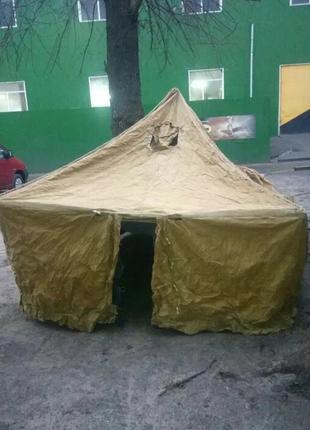Палатка армейская для охоты/рыбалки на 4-6 мест