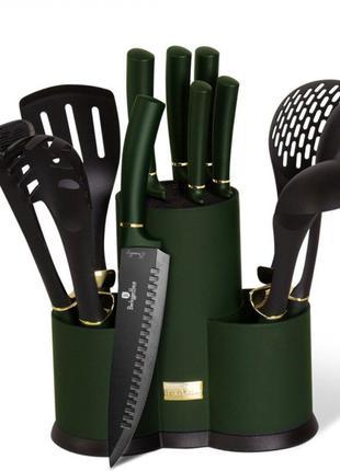 Набор кухонных принадлежностей 12 предметов Emerald Collection Be
