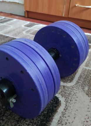 Гантель наборная 18 кг