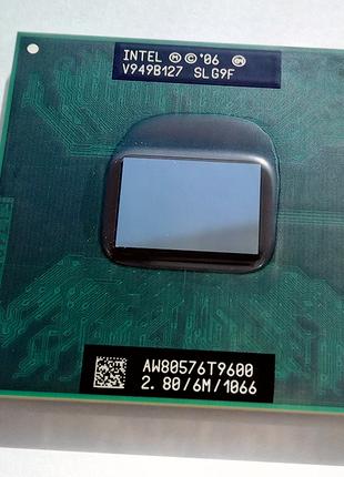 Процессор Intel Core 2 Duo T9600 (2.80 GHz, 6 MB) + термопаста