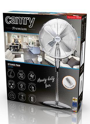 Вентилятор напольный Camry CR 7314 c д/у 45см 190W