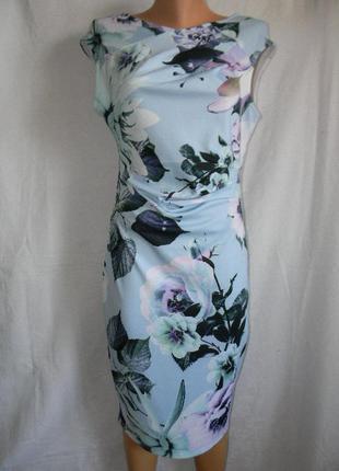 Платье с нежным принтом lipsy