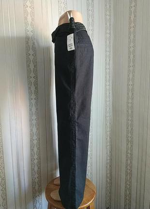 Легкие воздушние летние льняние брюки h&m