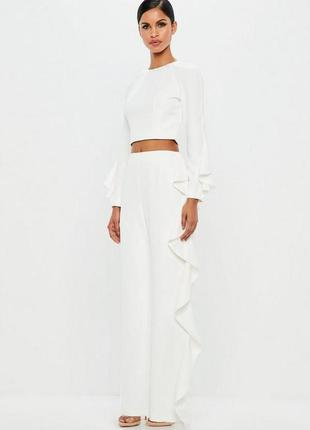 Шикарные белые брюки peace+love