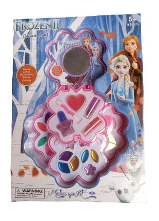 Набор детской косметики Frozen для девочки лак, помада, блеск