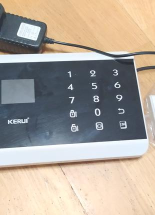 Kerui gsm сигнализация полный комплект