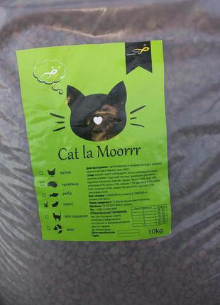 Сухой корм для котов Cat la Moorrr в ассортиментн