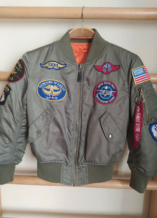 Куртка бомбер alpha industries